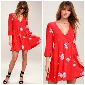 • PRICE FIRM • Free People Floral Dress